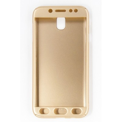 Чехол 360 для Samsung Galaxy J7 2017 (J730)(gold)