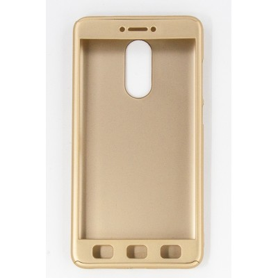 Чехол 360 для Xiaomi Redmi Note 4Х (gold)
