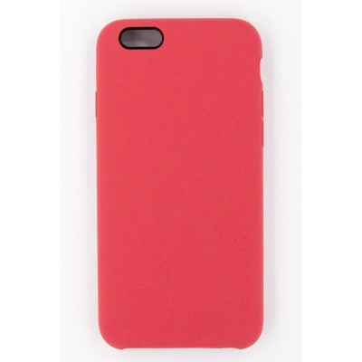 "Чохол-панель Dengos (Back Cover) ""Silicon"" для iPhone 6/6s (red)"