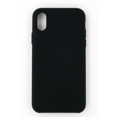 "Чохол-панель Dengos (Back Cover) ""Silicon"" для iPhone X (black)"