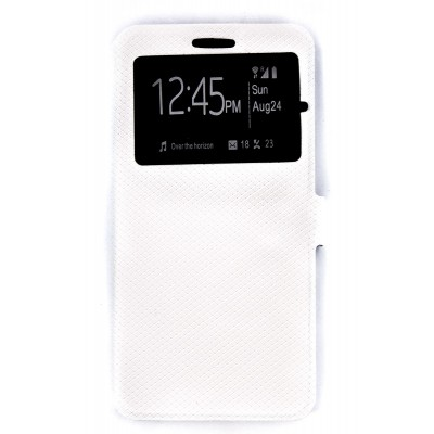 Чехол-Книжка DENGOS (flipp-BOOK Call ID) Lenovo K6/K6 Power (white)