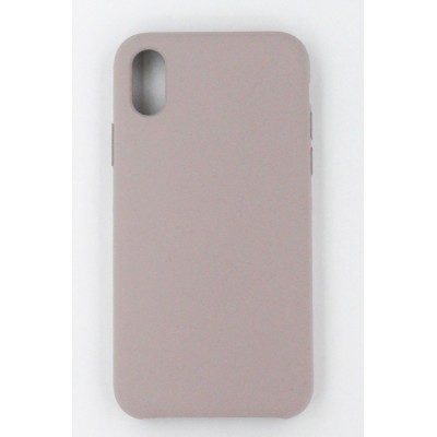 "Чехол-панель Dengos (Back Cover) ""Silicon"" для iPhone X (grey)"