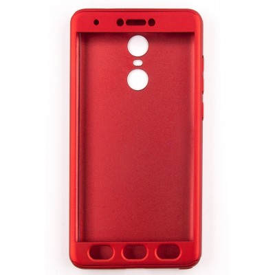 Чехол 360 для Xiaomi Redmi Note 4Х (red)