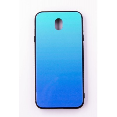 "Чехол-панель Dengos (Back Cover) ""Mirror"" для Samsung Galaxy J7 2017 (J730),(Lighting Blue)"
