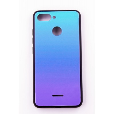 "Чехол-панель Dengos (Back Cover) ""Mirror"" для Xiaomi Redmi 6,(Lighting Blue)"