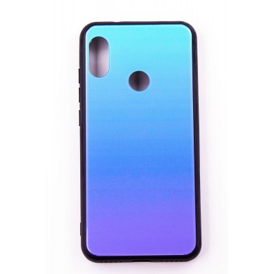 "Чехол-панель Dengos (Back Cover) ""Mirror"" для Xiaomi Redmi 6 Pro,(Lighting Blue)"