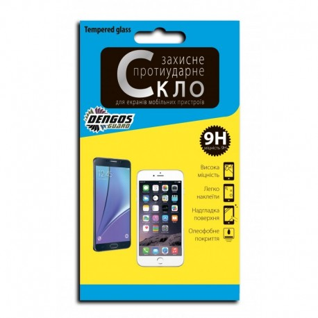 Захисне скло (Tempered Glass) DENGOS для Samsung Galaxy А3 (А300Н)