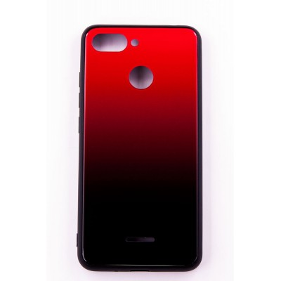 "Чехол-панель Dengos (Back Cover) ""Mirror"" для Xiaomi Redmi 6,(red)"