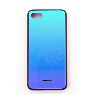 "Чехол-панель Dengos (Back Cover) ""Mirror"" для Xiaomi Redmi 6A,(Lighting Blue)"