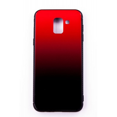 "Чехол-панель Dengos (Back Cover) ""Mirror"" для Samsung Galaxy J6 2018 (J600),(red)"